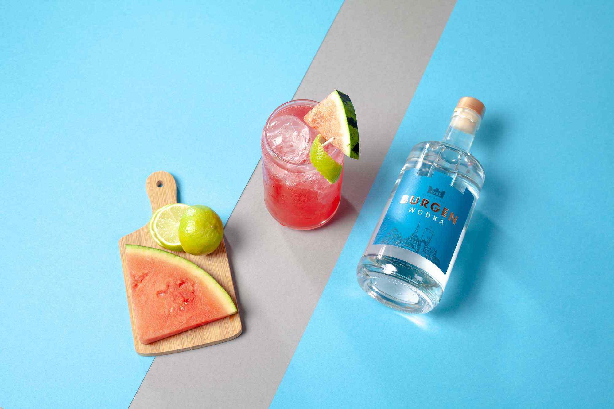 Burgen Wodka Cocktail